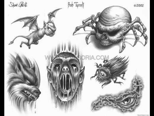 Disenos De Demonios Y Diablos Belagoria La Web De Los Tatuajes Tatuajes Interesantes Tatuajes Bocetos Tatuajes
