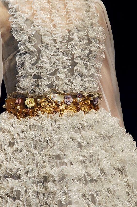 details from the FW13 collection, Sharing from The Louvre Bridal (www.thelouvrebridal.com)