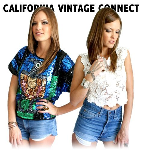 """""""Having confidence is always sexy and that always comes from a great fit maybe one amazing item that makes you feel like you could conquer the world! Personal style is about exploring yourself and what makes you feel happy and strong!""""  ~ California Vintage Connect (online vintage fashion shop)"""