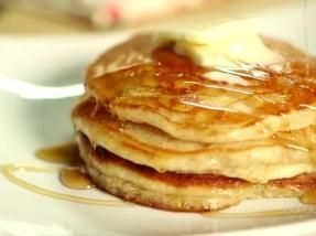 corn meal pancake recipe. Yum! Take it to savory or add blueberries bc I love cornmeal and blueberries.