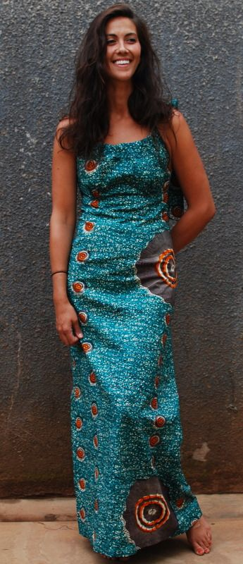 African print fabric dresses
