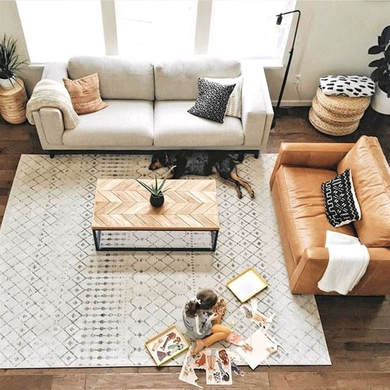 Cao tay phối màu khi mua sofa da tphcm hiện đại
