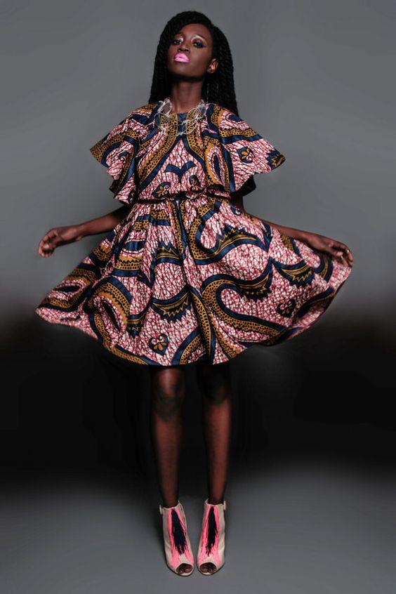 NEW The Kells Dress by DemestiksNewYork on Etsy ~Latest African Fashion, African Prints, African fashion styles, African clothing, Nigerian style, Ghanaian fashion, African women dresses, African Bags, African shoes, Nigerian fashion, Ankara, Kitenge, Aso okè, Kenté, brocade. ~DKK: