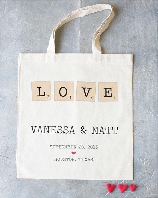 Wedding Gift Bags Tote Bag