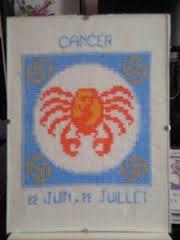 cancer signe au point de croix pinterest - Pesquisa do Google