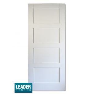 4 panel white interior doors wooddoor internal solid white primed shaker 4 panel contemporary planetlyrics Gallery