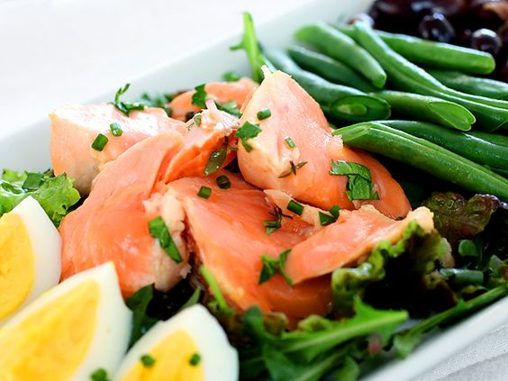 Poached Salmon from Thomas Keller's Ad Hoc at Home Cookbook {recipe}
