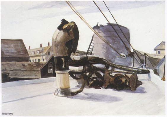 Hopper - Bow of a Beam Trawler, 1924