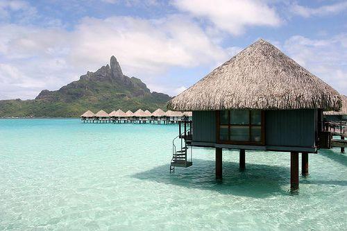 Bora Bora #travel #borabora #beach #heaven