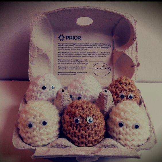 Croche eggs