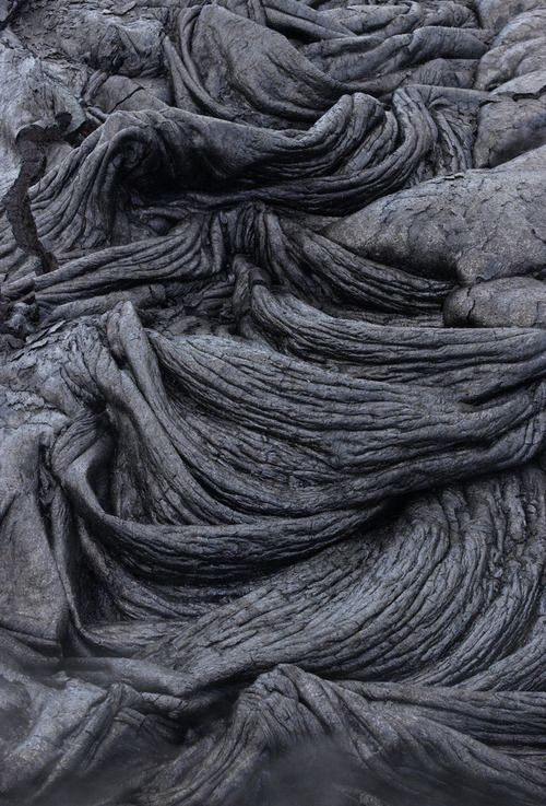 MATIÈRE / Volcano Lava - natural textures & sculptural surface pattern inspiration for design; art in nature