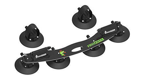 Unbekannt Treefrog Modell Pro 2bike Fahrradtrager Rack Saugnapf Montiert Fur 2fahrrader Bis Zu 45kg 4treefrog Vakuum Becher Je Spezifische Zu Halten Max 1