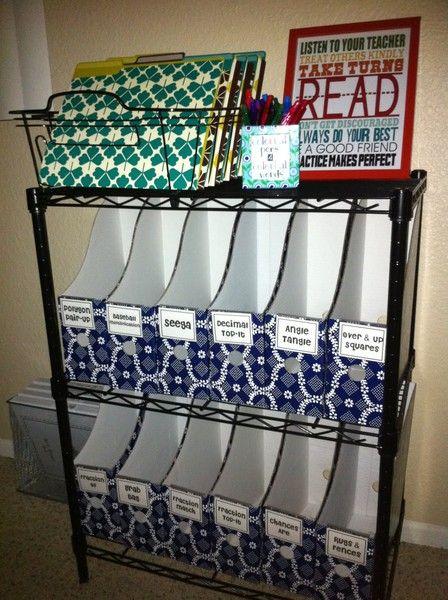 Classroom Bookshelf Ideas ~ Classroom organization