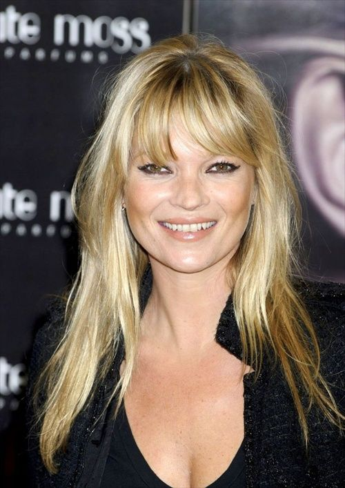 Pleasing Celebrity Bangs Fringe Hairstyles And Fringes On Pinterest Hairstyles For Women Draintrainus
