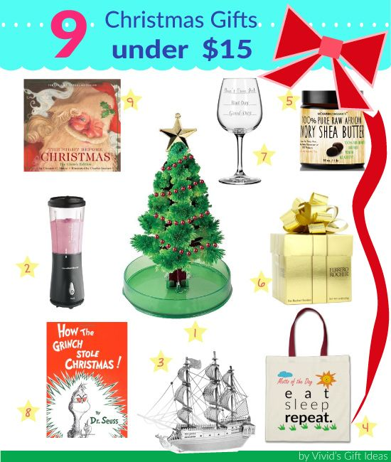 Christmas Gifts Under 15 Great For Gift Exchange Inexpensive And