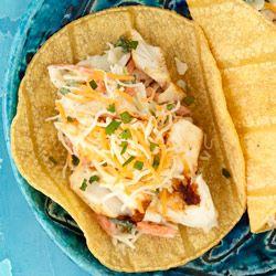 Baja Fish Tacos from KRAFT(R) Allrecipes.com