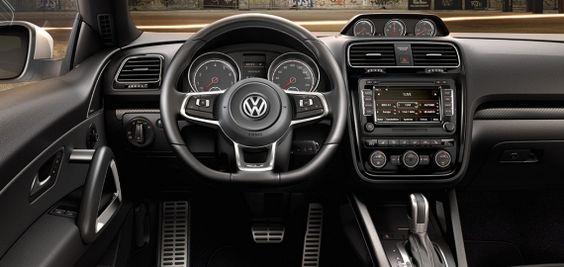 Puesto conducción Volkswagen Scirocco R-Line