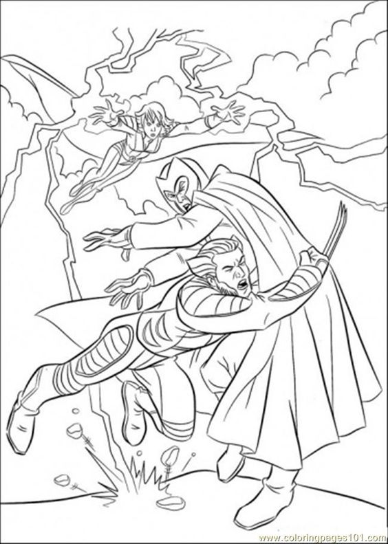 X-Men Wolverine Coloring Pages | Marvel Superheroes Coloring Pages ... | 791x564