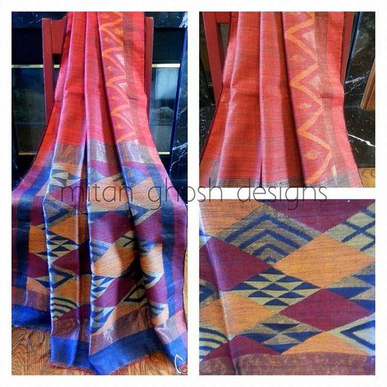 Unusual matka silk design
