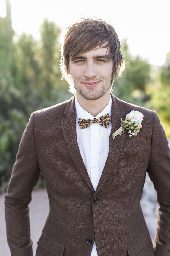 Charming Scottsdale DIY Wedding Inspired by Groom's British Heritage