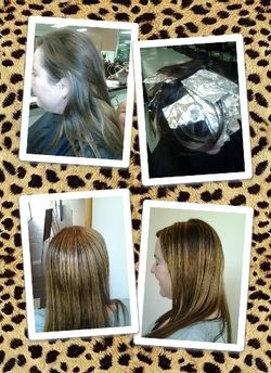 Partial highlights with foils