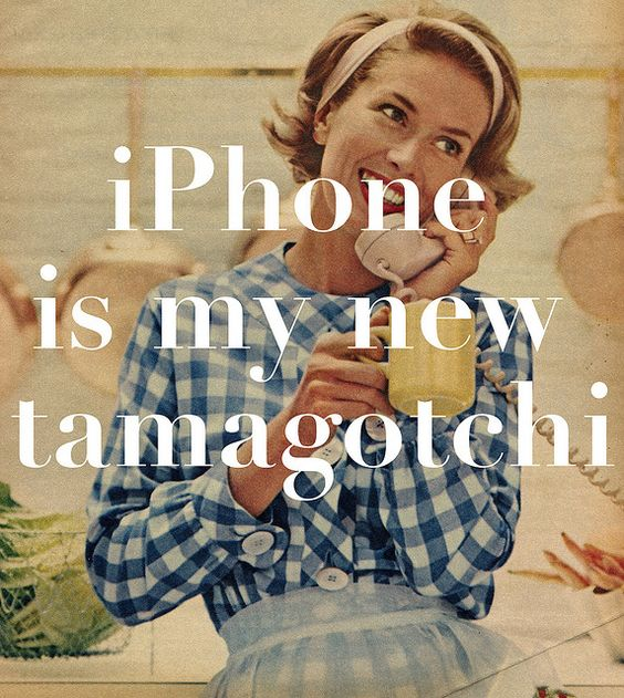 iPhone is my new tamagotchi.... http://alliphone5cases.com