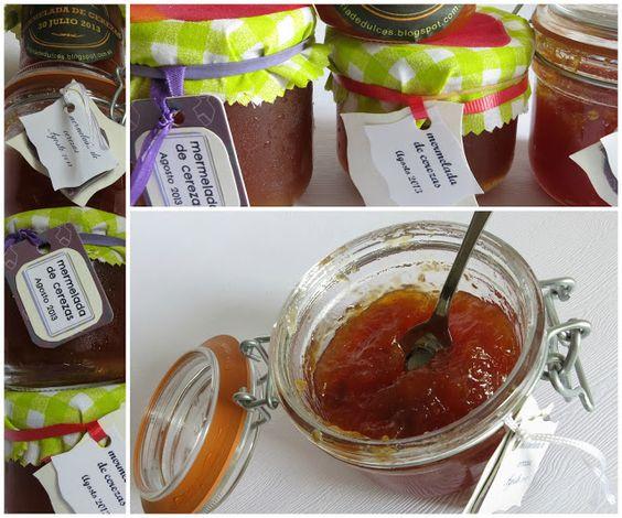 Factoría de dulces: Mermelada de cereza, qué fácil
