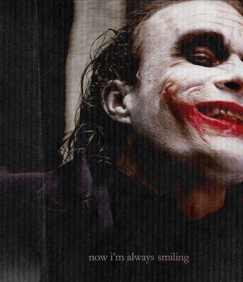now I'm always smiling: