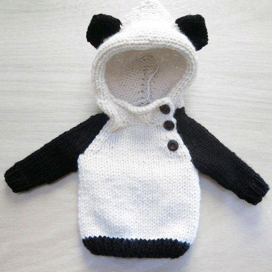 Knitting Pattern Panda Jumper : Pinterest   The world s catalog of ideas