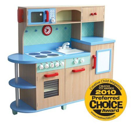 Amazon.com: GuideCraft All - in - One Play Kitchen: Toys & Games ...