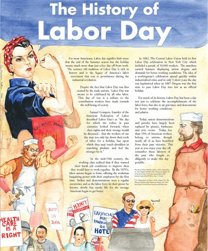 Good to know and perfect to explain the history of Labor Day to your kids!