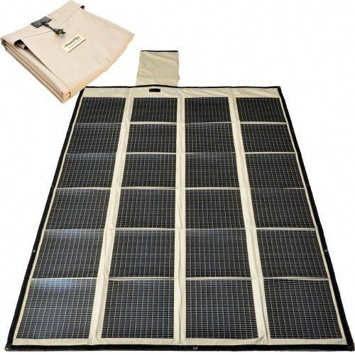 New Powerfilm Foldable 120 Watt Solar Charger Ships Global Fold Up Solar Panel Military Foldable In 2020 Solar Panels Solar Panel Technology Solar Panels For Home