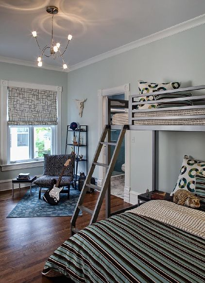 paint colors boys and metal bunk bed on pinterest