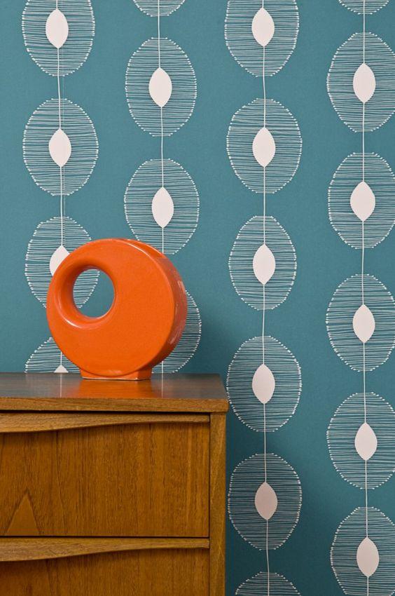 Missprint imprim s chic pour papier peint tendance style vintage pinter - Papier peint tendance ...