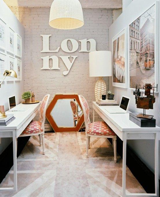 Office para pequenos espaços!