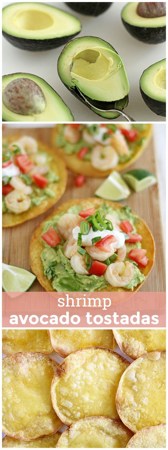 tostadas crispy avocado toast and more shrimp avocado tostadas ...