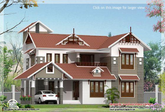 Kerala House Plan In 2020 Kerala House Design Duplex House Design Small Cottage House Plans