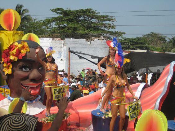 Go to the Carnaval de Barranquilla  http://www.carnavaldebarranquilla.net/