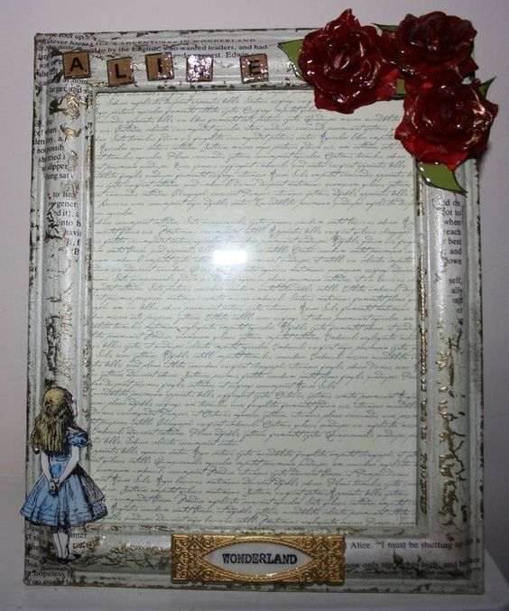 Alice In Wonderland Photo Frame picture Frame £20.00