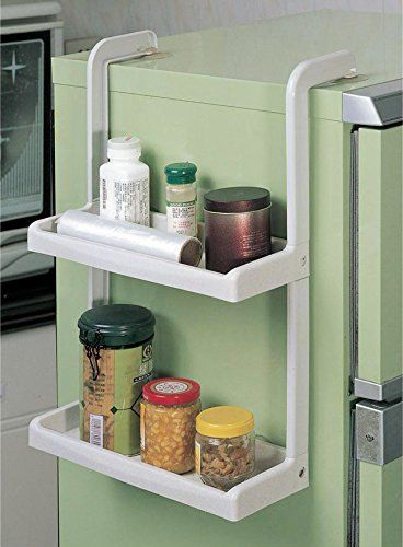 Honla Kitchen Refrigerator Wall Mountable Hanging Plastic