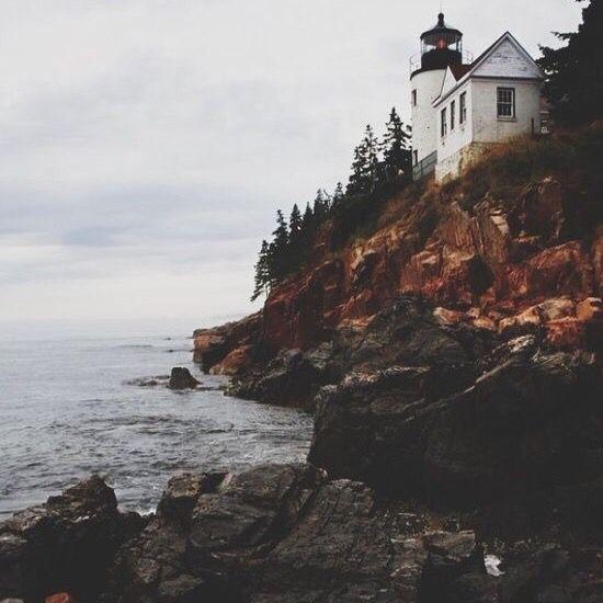 Tiny lighthouse.
