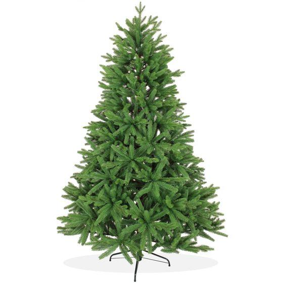 k nstlicher weihnachtsbaum 210cm pe spritzguss gr ner. Black Bedroom Furniture Sets. Home Design Ideas