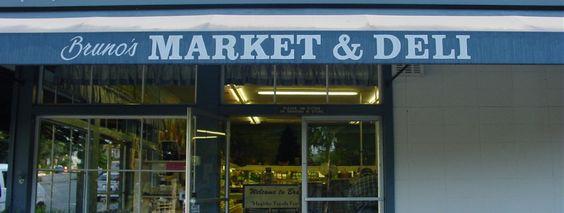 brunos market and deli for delicious sandwiches @ Junipero St, Carmel, CA 93921 (831) 624-3821 #carmel