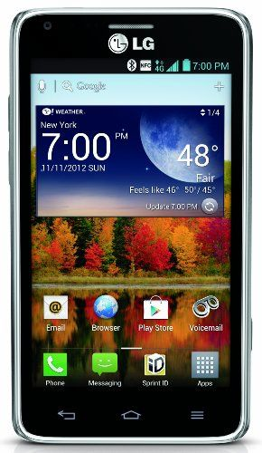Mobile Phones + Service Plans + Wireless Accessories | National Phone » LG Mach 4G Android Phone (Sprint) NationalPhone.net