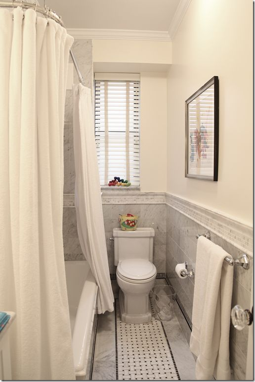 8 new york apartment angie gren via cote de texas house tours ii pinterest tile - Bathroom design nyc ...