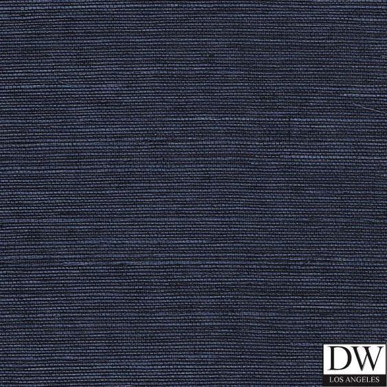 Designer wallcoverings martinique wallpaper bh90210 for Navy blue wallpaper for walls