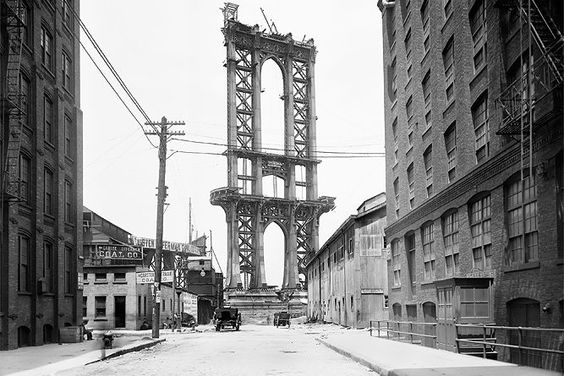 Manhattan Bridge, 5. Juni 1908