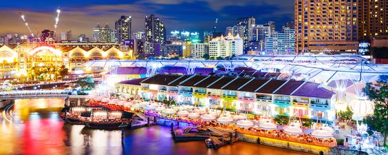 Clarke Quay Singapore: A guide to bars and clubs to get away from the mainstream - by City Nomads.