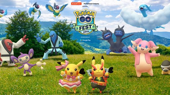 The Pokémon Company International Và Niantic Công Bố Chi Tiết Về Pokémon GO Fest 2021