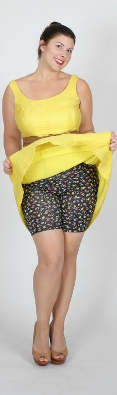 UnderSummers Shortlette Slip Shorts.  Always Fun.  Super Comfy.  Never Shapewear.  Available in Regular and Plus Sizes.